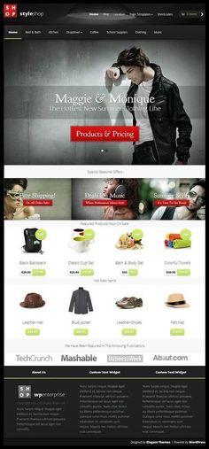 StyleShop Theme Review - Elegant Themes