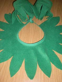 Kostüme für Kinder - Kragen und Gamasche für Blumenkinder - ein Designerstück von gz-design bei DaWanda