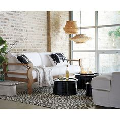 Brush Apartment Sofa in All Paola Navone | Crate and Barrel
