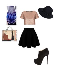 """""""Untitled #224"""" by dream3lov3 ❤ liked on Polyvore featuring Glamorous, Giuseppe Zanotti, rag & bone, women's clothing, women, female, woman, misses and juniors"""