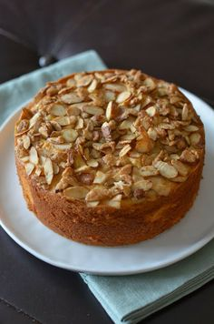 Playing with Flour: Almond semolina cake