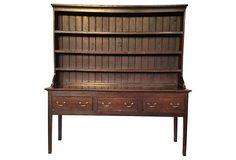 19th-C.  Welsh Elm Dresser on OneKingsLane.com