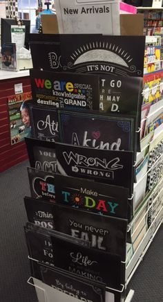 Sonsuh Educational in Toronto, ON has their Inspire U posters ready for shopping!