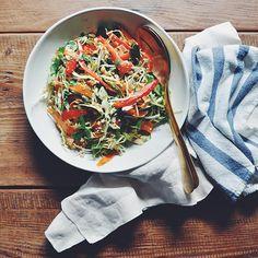 Raw Thai Citrus Crunch Salad   Turntable Kitchen