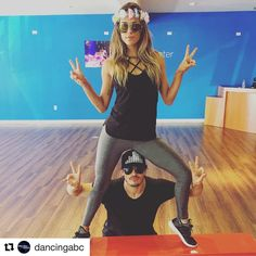 #Repost @dancingabc with @repostapp ・・・ ✌and ❤️ baby, that's all #TeamGlamer needs! Name their decade below.  #ErasNight #DWTS