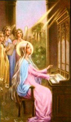 St Cecilia, patroness of musicians <3