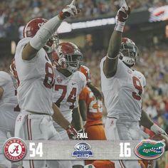 Alabama vs Florida 2016 SEC Championship Game