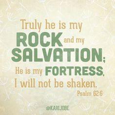 Psalm 62:6 5-20-14