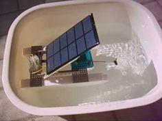 MEXICANO MODELISMO NAVAL DE RECICLADO JOSE VILLARREAL TORRES AEROSOL CANS CONVERSION SOLAR MODEL BOAT