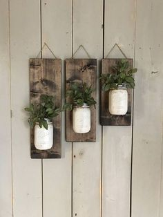 fall-wall-sconce-individual-mason-jar-sconce-cream-wall-sconce-rustic-deco/ - The world's most private search engine Diy Wand, Colored Mason Jars, Painted Mason Jars, Mason Jar Crafts, Mason Jar Diy, Pot Mason, Rustic Mason Jars, Mason Jar Sconce, Hanging Mason Jars