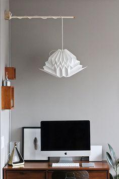 Custom XL White Origami Cloud Paper Lamp Shade, White Geometric Cloud Pendant Lamp, Mobile Wall Lamp, Handmade Home Decor, Cloud Sculpture Cloud Lampshade, Origami Lampshade, Wooden Lampshade, Paper Lampshade, Lampshades, Contemporary Lamp Shades, Modern Lamp Shades, Shabby Chic Lamp Shades, Rustic Lamp Shades
