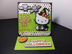 Hello Kitty Greetings, Happy Hauntings, Doodletype