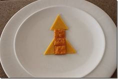 easy rocket snack--Cheese Its and Cheese