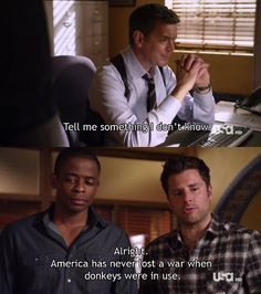Shawn and Gus are the best. Psych Quotes, Tv Quotes, Movie Quotes, Funny Quotes, Psych Memes, Shawn And Gus, Shawn Spencer, Best Tv Shows, Favorite Tv Shows