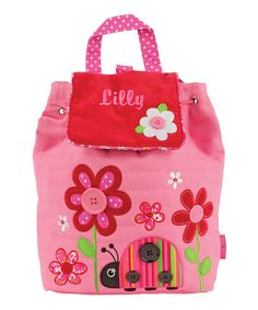 Look at this Ladybug Personalized Signature Quilted Backpack on #zulily today!