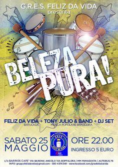 FELIZ DA VIDA_samba party in Milano!