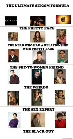 WOW ...three of my  favourite TV shows ever,,,, How I Met Your Mother , The Big Bang Theory and Friends ......