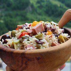 Insalata di Riso (Italian Rice Salad) #myallrecipes #allrecipesallstars #allrecipesfaceless