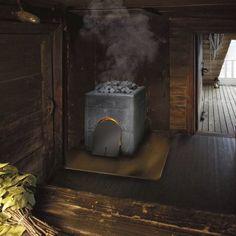 Wood heating stove / contemporary / soapstone / sauna SK950 TULIKIVI