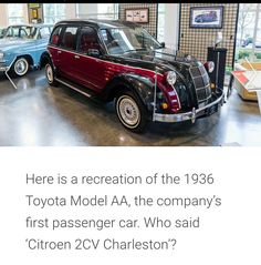 Charleston, Toyota, Model, Mathematical Model, Scale Model, Charleston Sc, Models, Modeling