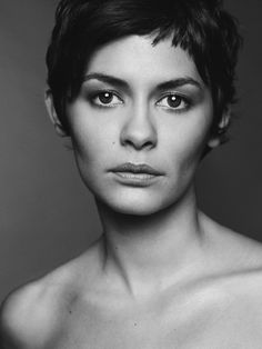 Audrey Tautou by Mark Abrahams