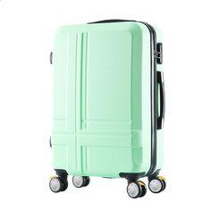 """केबिन वैलीज बैगेज रूलेट्स सेट कैरी ऑन और ट्रेवल बैग कैरो कोफर माला वीजम ट्रॉली सामान सूटकेस 20 """"22"""" 24 """"26"""" 28 """"इंच"""