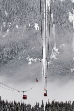 Peak To Peak Gondola Whistler, Colorado by Duncan Rawlinson