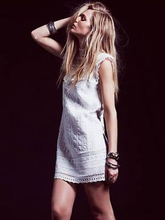 Free People Victoria's High Neck Shift, $168.00