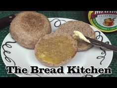 Wholewheat English Muffin Recipe - The Bread Kitchen Whole Wheat English Muffin, English Muffin Recipes, English Food, English Muffins, Flat Pan, Bread Kitchen, No Yeast Bread, Sourdough Recipes, Crumpets