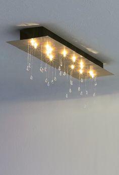 #Escale #Ceilinglamp #CrystalRainRectangular #Designlamps