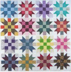 16 Sister's Choice Quilt Blocks