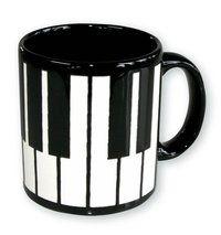 Tasse Klaviertastatur ♫♪ ☕ www.musiker-geschenke.com/Tassen