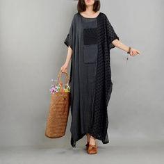 Polka Dot Parade Poncho Dress – Eva Trends