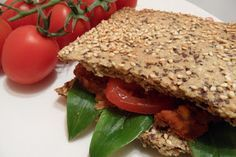 Szezámos lepénykenyér Sandwiches, Keto, Bread, Food, Meal, Brot, Eten, Breads, Meals