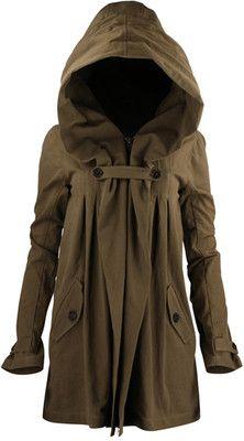 Jacket with Huge Hood Nicholas K