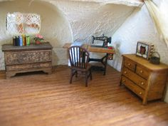 Right side of Upstairs by Wyld_Hare, via Flickr-1:48 scale
