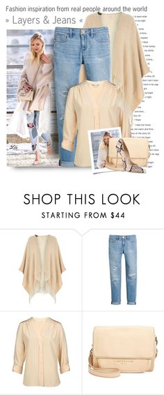 """""""Layers & Jeans"""" by fashion-architect-style ❤ liked on Polyvore featuring Dorothy Perkins, White House Black Market, Diane Von Furstenberg, Liebeskind and Casadei"""