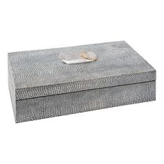 Regina Andrew Large Shagreen Python with Crystal Box @Zinc_Door
