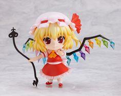 Nendoroid Anime Loli Touhou Project Flandre Scarlet 9cm PVC Figure Doll