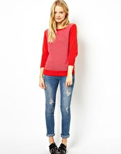 Image 4 of Jack Wills Bright Contrast Sweater