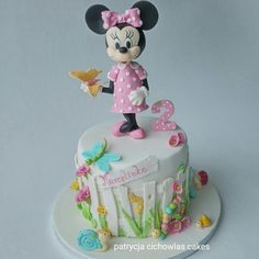... Minnie Cakes on Pinterest  Minnie Mouse Cake, Mickey Mouse Cake and