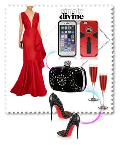 """iPhone 6 Plus Case: Simply Divine"" by ester-ludwig on Polyvore featuring Johanna Ortiz, Christian Louboutin and Alexander McQueen"