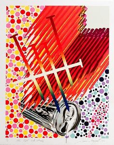 Light Bulb Shining by James Rosenquist (1992)