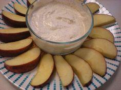 Greek Yogurt + Almond Butter = Apple Dip #BeyondDiet #Recipes