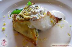 Rotolino di Crespella ai Carciofi con Salsa ai Limoni di Sorrento.  http://www.anticocasaledeimascioni.it/