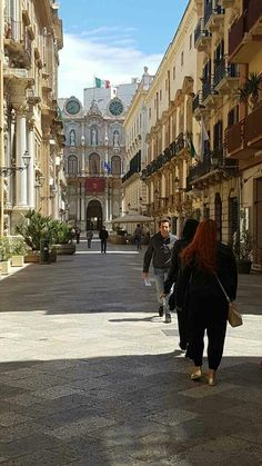 Streets of Trapani