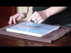 how to make your own photo canvas