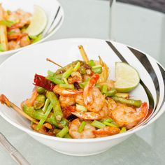 shrimp with roasted chili paste sauce thai shrimp with roasted chili ...