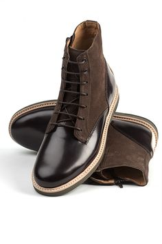 The Hutchinson - Mahogany #fallboots #mensboots #fallwinter #mensshoes #thorocraft #handmade