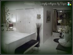 simply vintageous...by Suzan: Final Bedroom Reveal